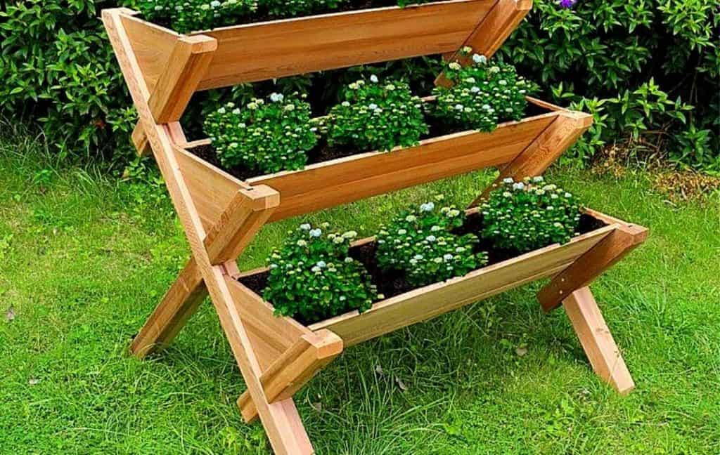 THREE TIERED HERB GARDEN