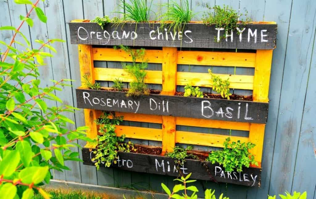 SHELF HERB PLANTER